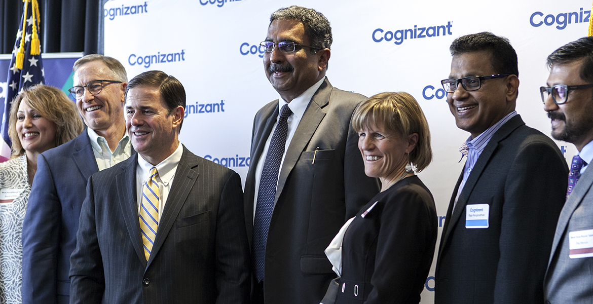 Cognizant ribbon cutting ceremony