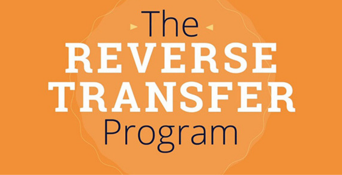 The Reverse Transfer Program banner.